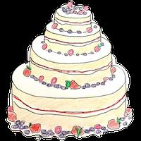 Cake illustration by Rhiannon Adler