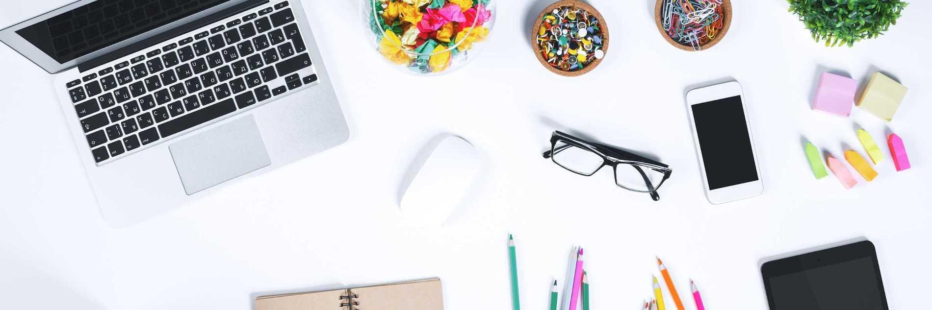 Creative business desk