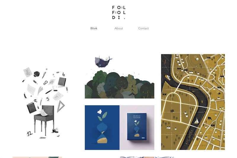 Foldifoldi artist website