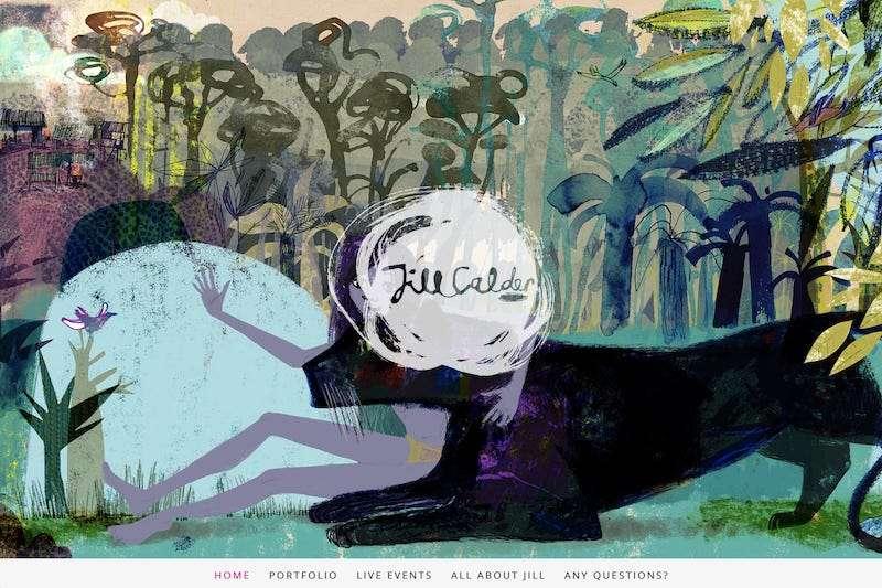 Jill Calder artist website